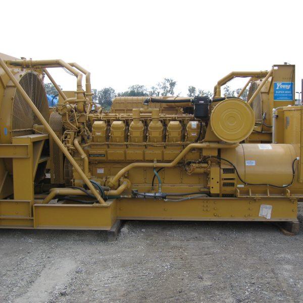 1250 kW 480 V 60 Hz Caterpillar Generator Set