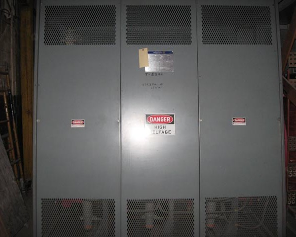 1500 kVA Square D Indoor Housed Dry Type Transformer