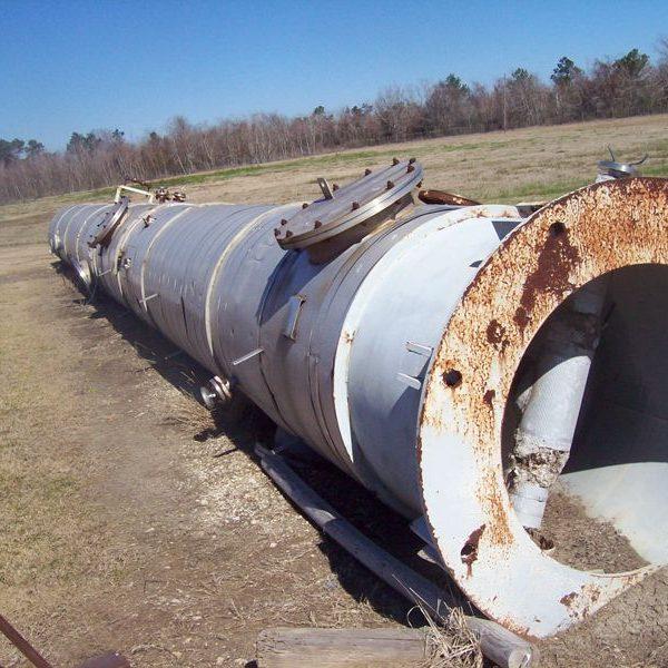 48″ X 58′ Baeuerle & Morris, 30 psi, 304 Stainless Steel Column