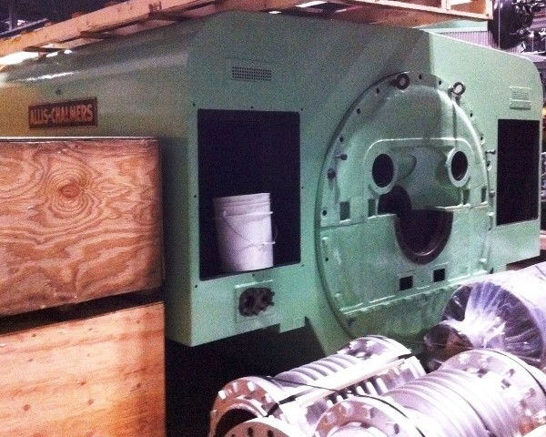 3000 kW 360 PSI Allis Chalmers Non-Condensing Steam Turbine Generator Set