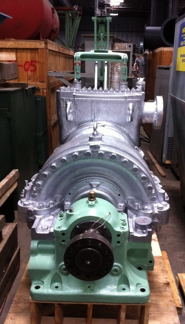 Used 3000 Kw 360 Psi Allis Chalmers Non Condensing Steam