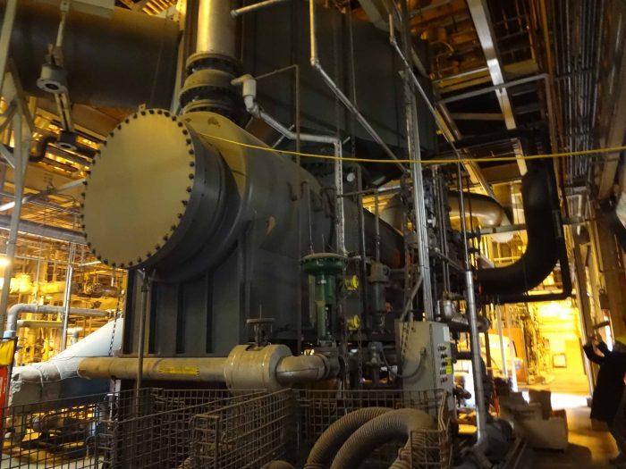 9500 Kw 850 Psi Murray Dresser Rand Steam Turbine