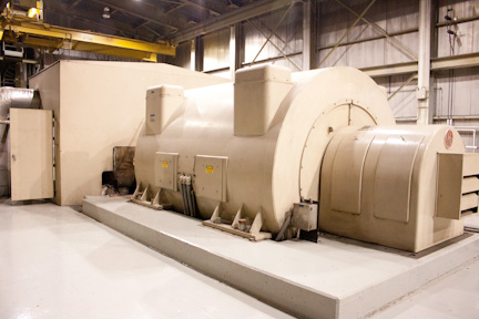 20700 kW 1325/475 PSI General Electric Steam Turbine Generator
