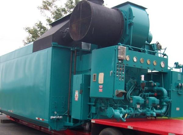 70,000 #/Hour 400 PSI Nebraska Packaged Water Tube Boiler