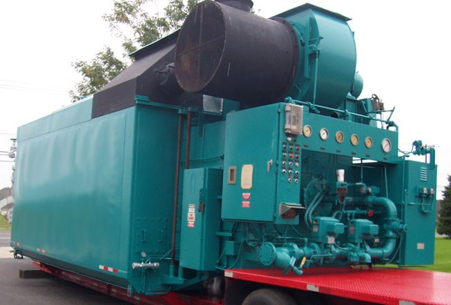 Used 70,000#/Hour 400 PSI Nebraska Packaged Water Tube Boiler ...
