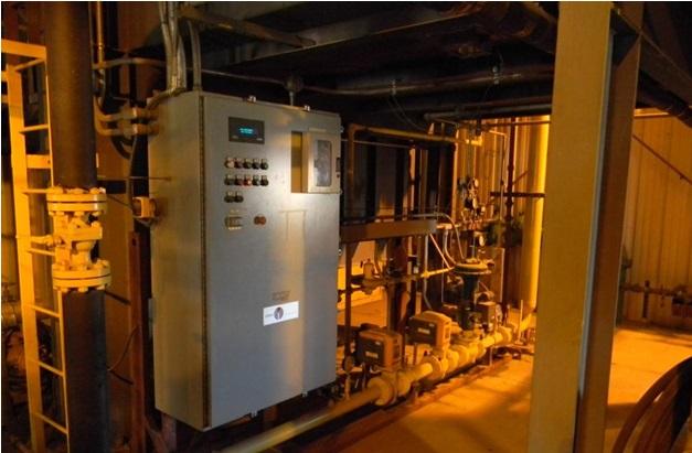 Used 40000 kW 13200 Volts 60 Hz Cogeneration Plant   Boilers