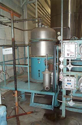 "Alfa Laval Model CT-6 ""Centritherm"" Stainless Steel Evaporation Unit"