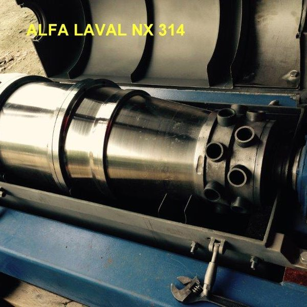 Alfa Laval NX 314 Stainless Steel Solid Bowl Decanter Centrifuge