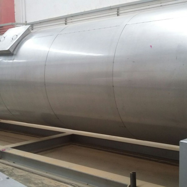 72″ X 30′ Buhler Aeroglide Model R1 72-30 NGX 304L Stainless Steel Rotary Dryer