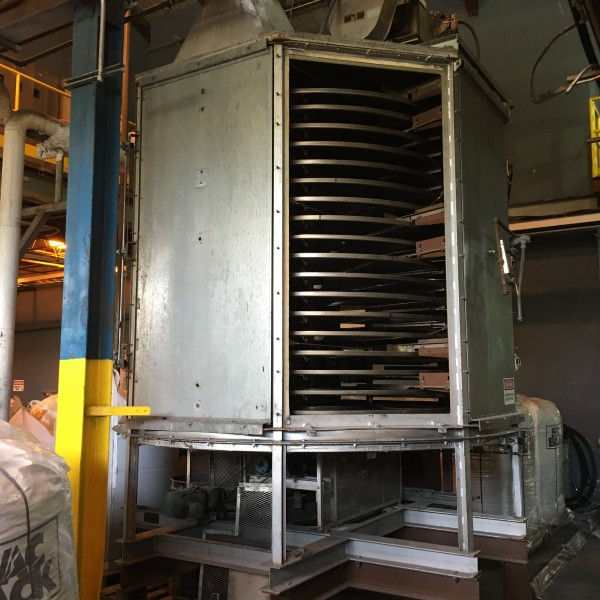 18 Trays Wyssmont Tray Dryer
