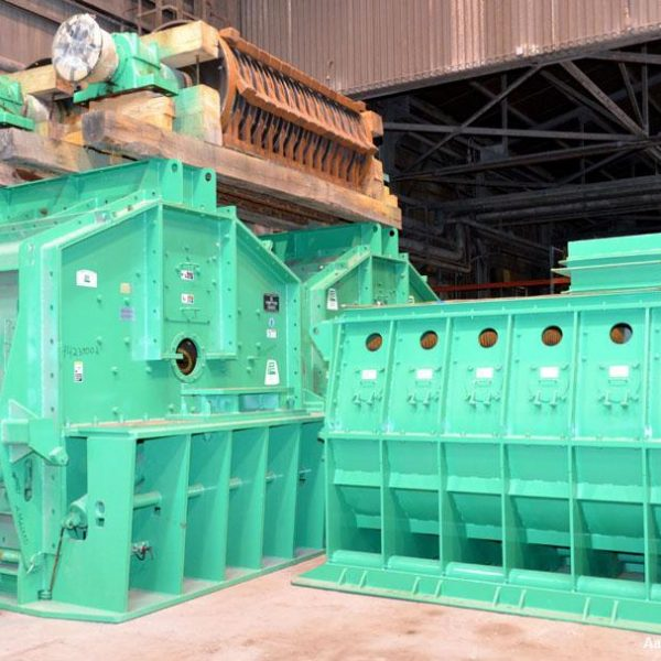 2500 HP Pennsylvania Coal Crusher Model SXCB-225 Carbon Steel Hammer Mill Unused