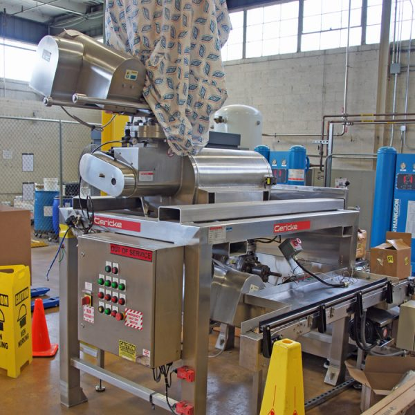 Stainless Steel Gerike CSM 722 Centrifugal Sifter