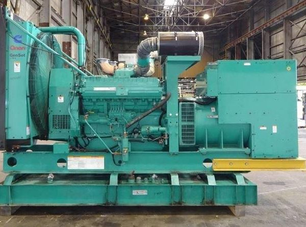 750 kW 480 Volts 60 Hz Cumming Standby Diesel Generator Set