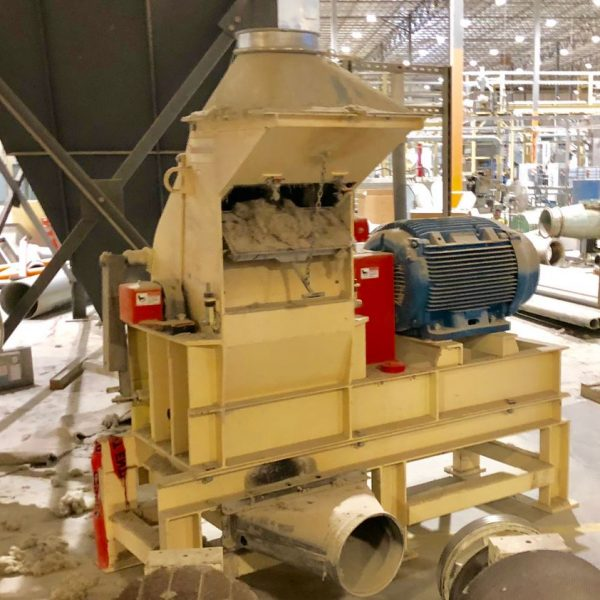 125 HP Schutte Buffalo Hammer Mill
