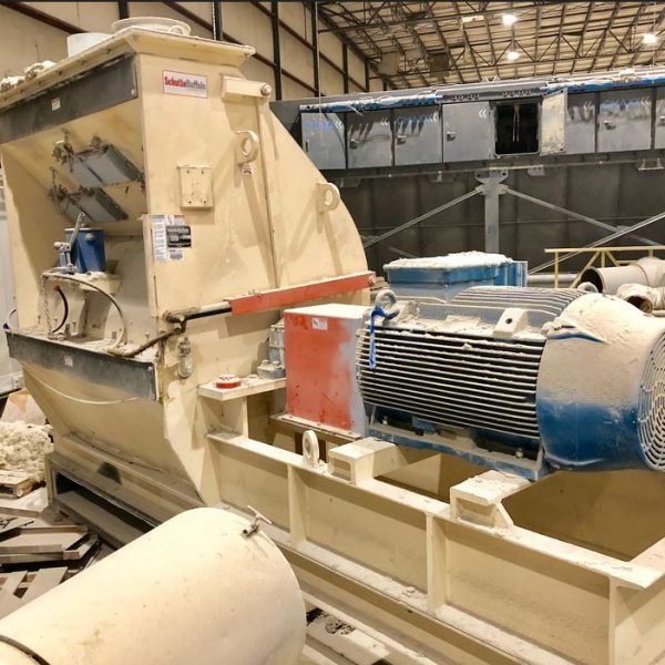 500 HP Schutte Buffalo Hammer Mill