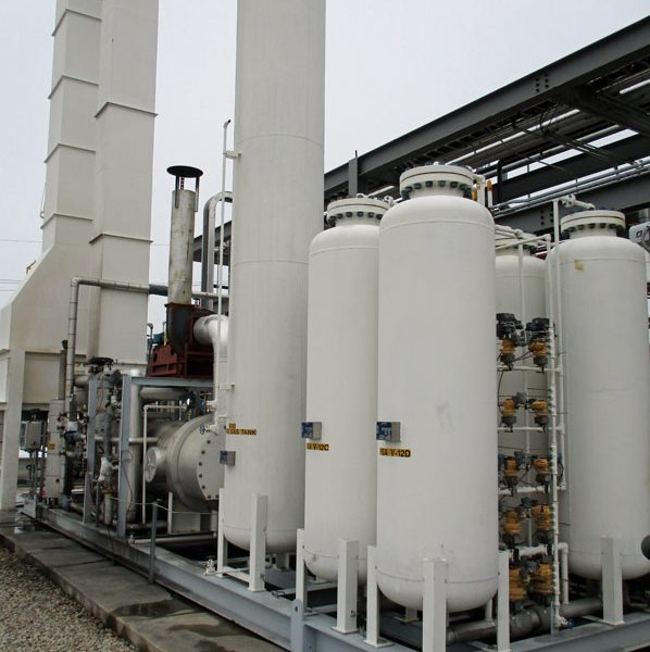 Hydrogen Plant with Capacity 395 Nm3/hour (15,000 SCFH) Modular