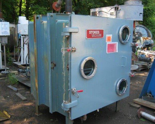 100 Sq.Foot, 8 Shelves Stokes Sanitary Stainless Steel Vacuum Shelf Dryer