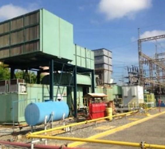45400 kw GEC Alsthom Gas Turbine