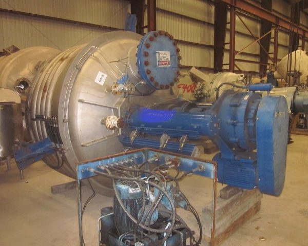 3 Sq.Meter Rosenmund Filter Dryer with Side Discharge and Drive System
