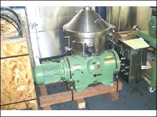 Westfalia CSA19-06-476 316 Stainless Steel Disc Centrifuge