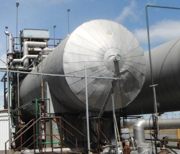 200 Ton, 72′ CO2 Tank
