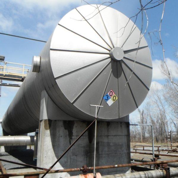 300 Ton, 97′ CO2 Tank