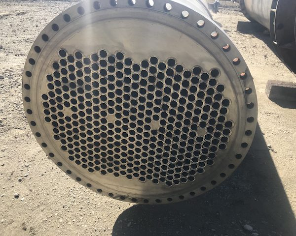 2200 Sq. Ft. Apex Horizontal Shell and Tube Heat Exchanger Zirconium