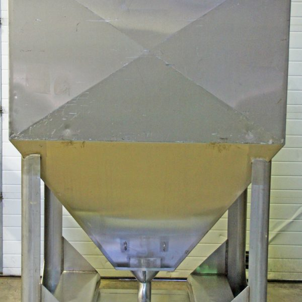 56 Cubic Foot 316L Stainless Steel Sanitary Totes