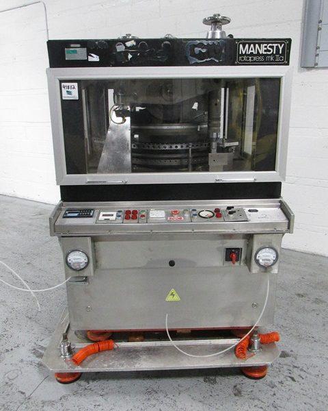 61 Station Manesty MKIIA Rotary Tablet Press