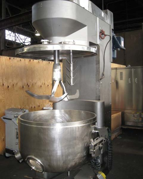 600 Liter Collette Mdl GRAL 600 Stainless Steel High Shear Mixer