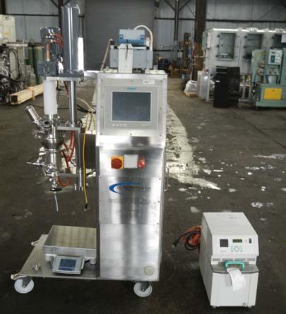 0.005 Sq. M. GL Filtration Hastelloy C22 Nutsche Filter Dryer