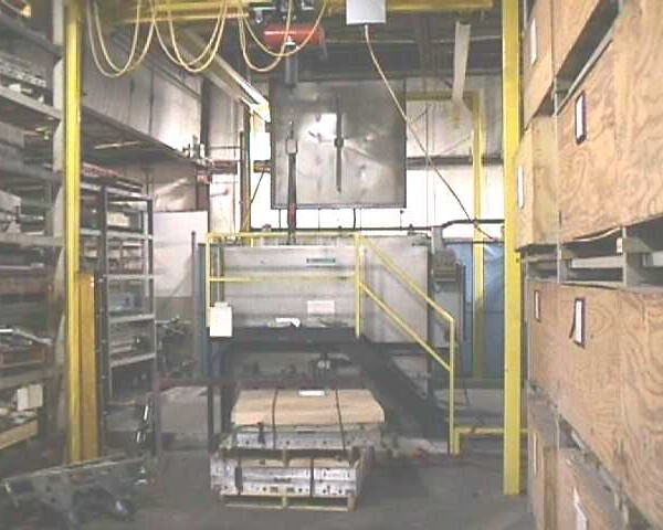 FPI Systems Incorporated Washing System Previously Used For Aluminium Thermoforming Molds
