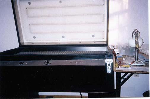 28″ x 50″ Global Impressions Model 5000 Web Feed Vacuum Former