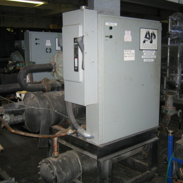 45 Tons Heat Craft Inc. Water Cooled Chiller