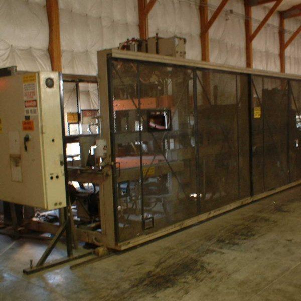 42″ x 40″ Modern Machine Model 4042CT Web Fed Thermoformer/Trim Press