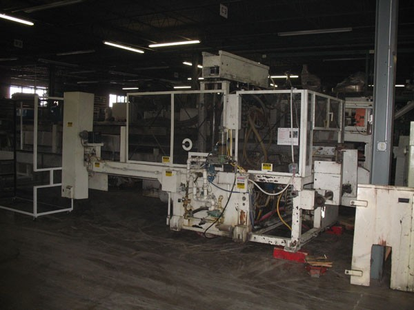 40″ x 40″ Brown C4201 Thermoforming Line, 480 Volt, 433