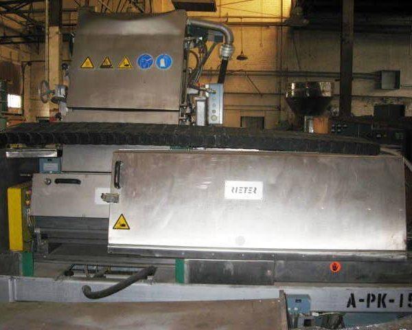 "23″ Rieter Automatik Model ""Vario"" USG 600/1 Water Slide Pelletizer"