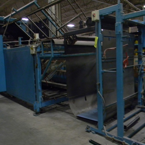 64″ x 44″ Lyle Model 260FTP Inline Thermoformer, New In 2000
