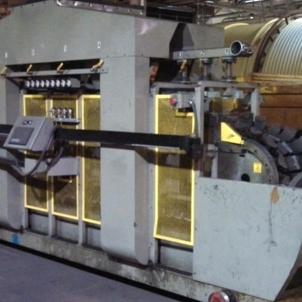 Cullom Corrugator Model Svc-a, Designed For 1-8″ Maximum Pipe Capability