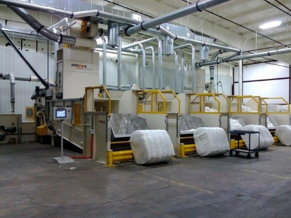 110″ GLASS FIBER PROCESSING LINE ZIMMER