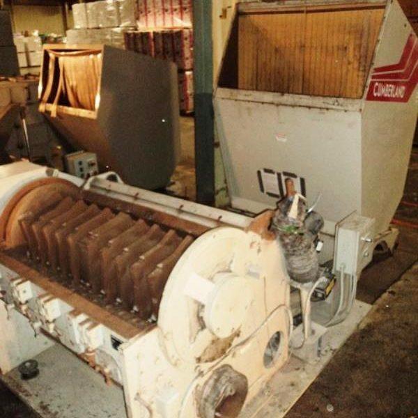 150 HP 24″ X 56″ Cumberland Model X1400 Granulator