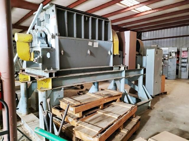 200 HP 32″ X 60″ Montgomery Industries Model 58PM-ED Shredder
