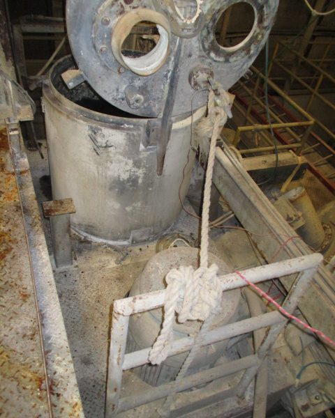 600 Liter Littleford 150 HP Ceramic Lined Non-Jacketed High Intensity Mixer