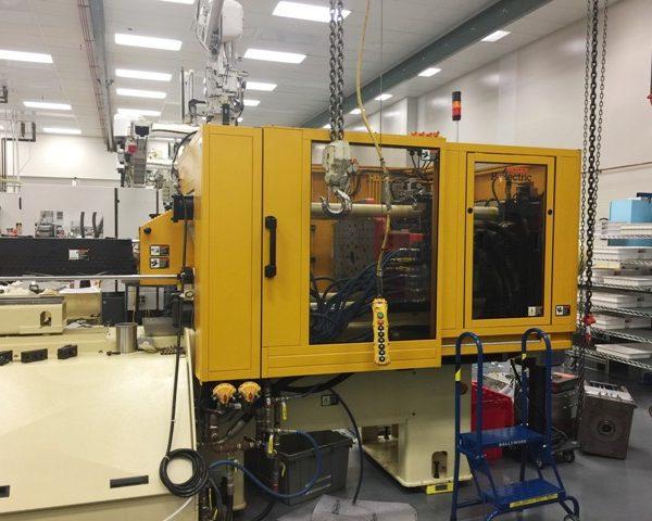 120 Ton Huskey Injection Molding Machine