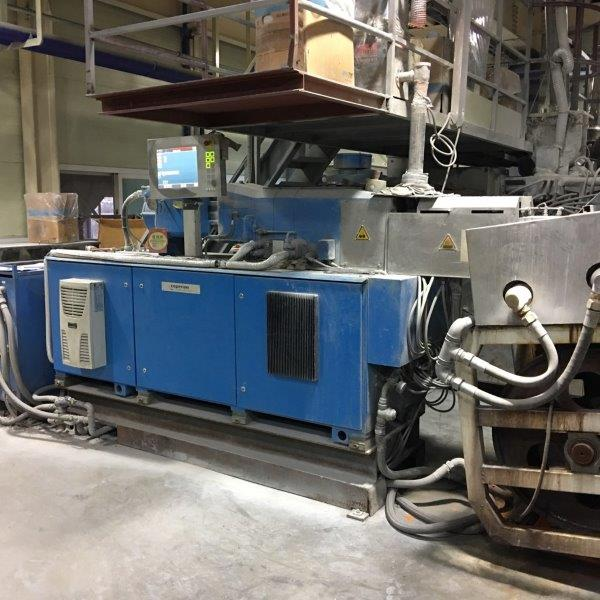 34mm Coperion ZSK34 Co-Rotating Twin Screw Extruder