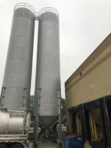 6048 Cubic Foot Imperial Calumet Industries Aluminum Silo