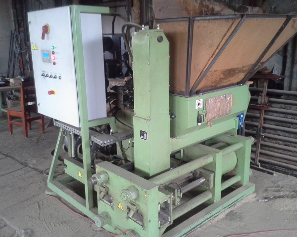50 HP 6″ x 3″ Ruff Briquetting Line