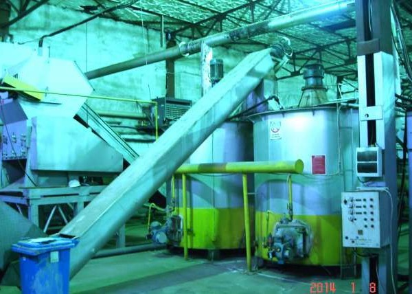 PET Bottles Recycling Line, 0.5 TPD