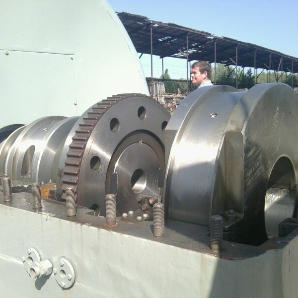 12000 kW 510/75 PSI Kaluga Steam Turbine Plant