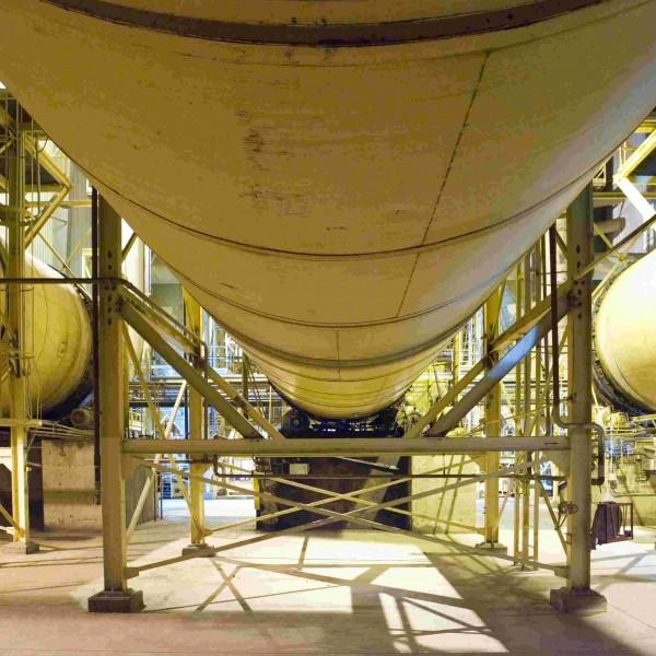 156″ X 60′ MEC Triple-Pass Rotary Drum Dryer System